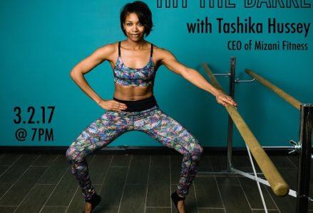 CC - Hit the Barre w Mizani Fitness