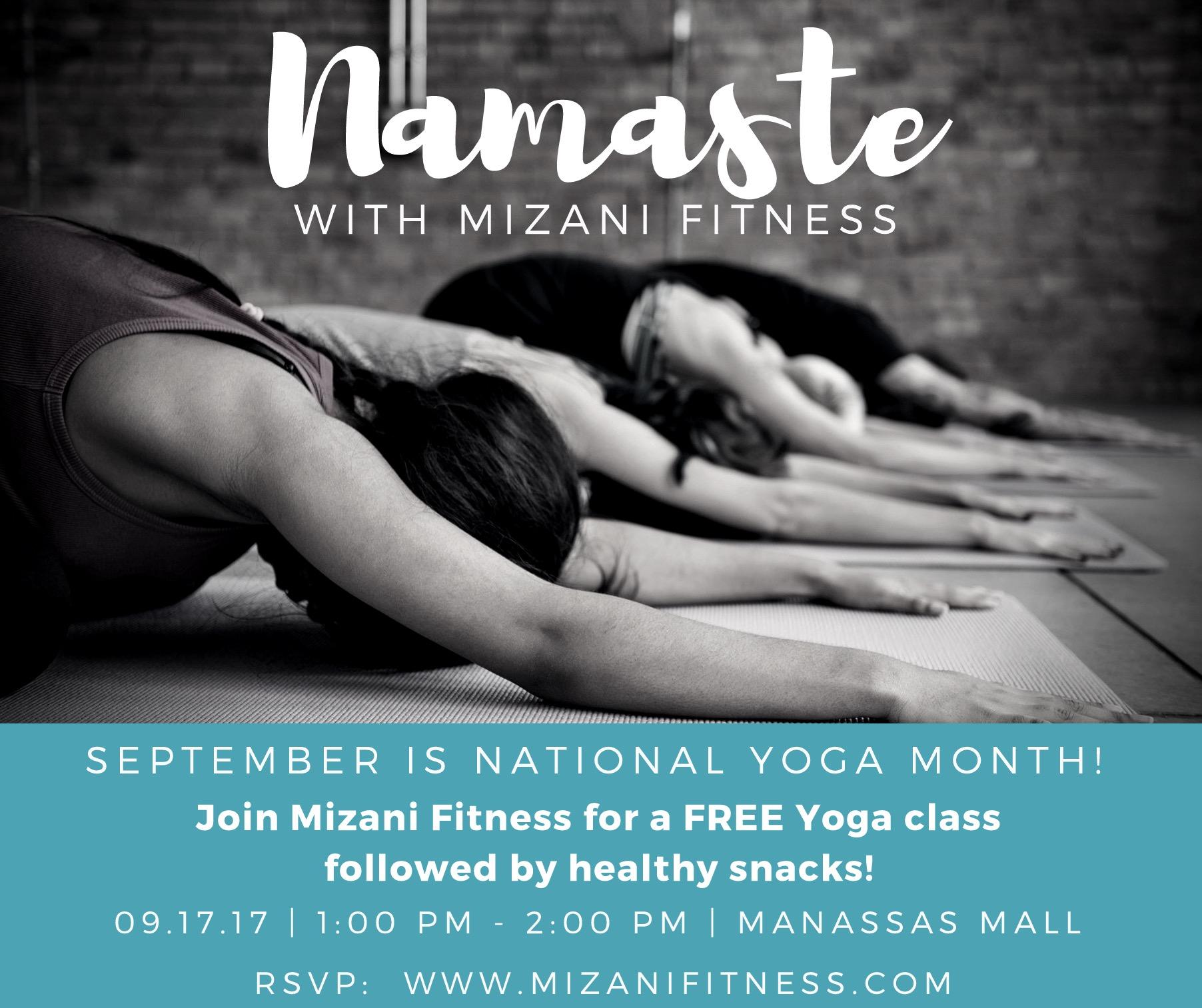 Namaste with Mizani Fitness