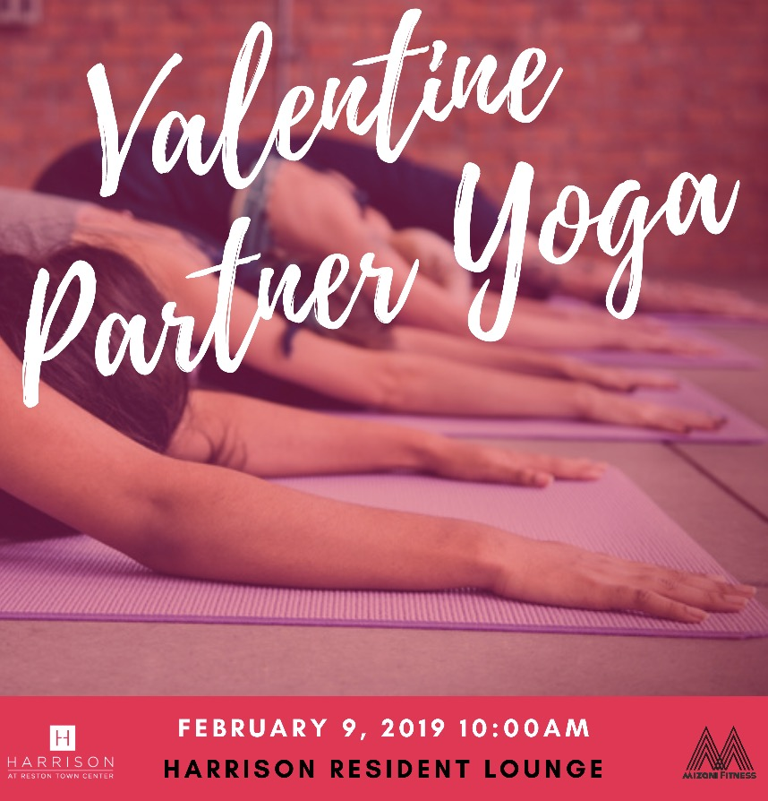 mizani fitness  valentine partner yoga
